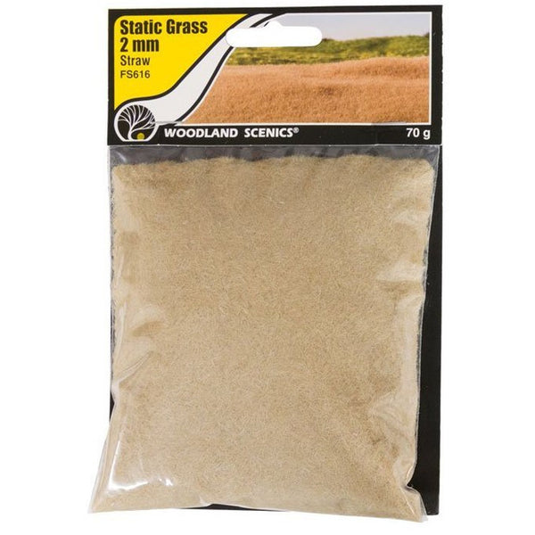 Straw Static Grass 2mm