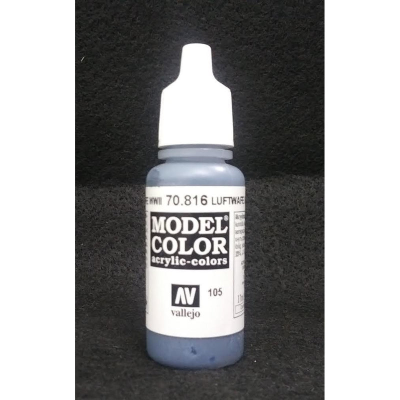 Model Color: Luftwaffe Uniform WWII German Blue (17ml)
