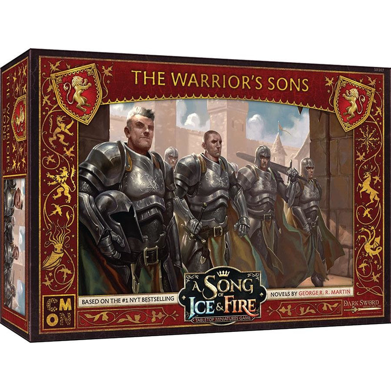 A Song of Ice & Fire: Tabletop Miniatures Game: Lannister The Warrior`s Sons Unit Box
