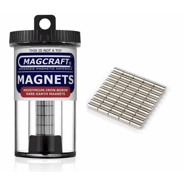 Rare-Earth Rod Magnets (50-Count)