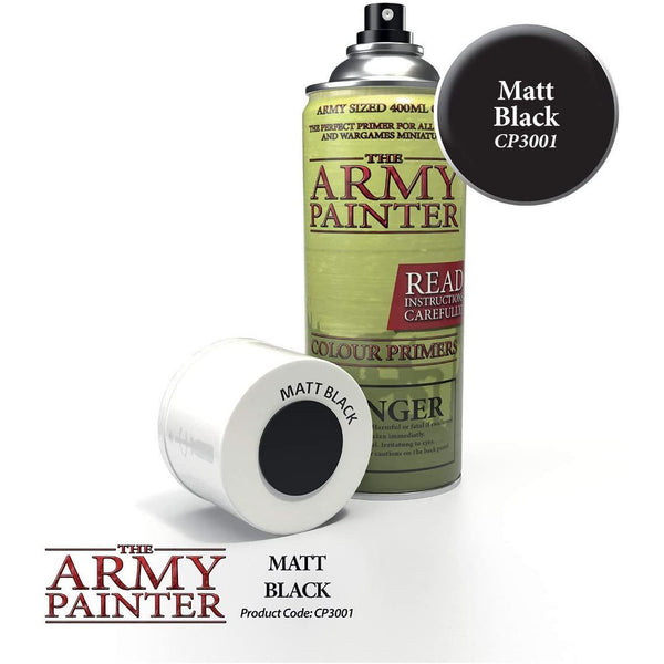 Base Primer: Matt Black