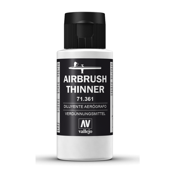 Auxiliary Products: Airbrush Thinner (60ML)