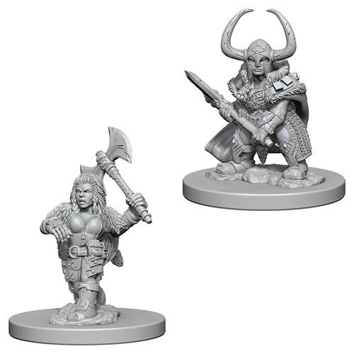 Dwarf Female Barbarian (W4)