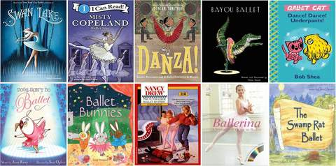 Get Some Dance Inspiration with Our Book Picks
