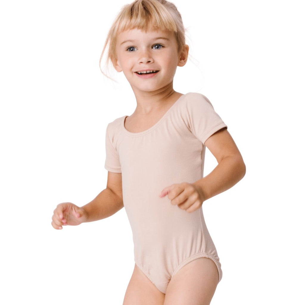 Short Sleeve Leotards for Girls and Toddlers