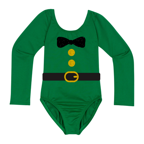 St Patrick's Day Baby & Toddler Girls Shirt - Lime Green