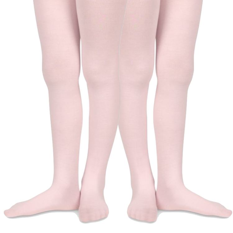 Jefferies Girls Microfiber Tights - 2 pack