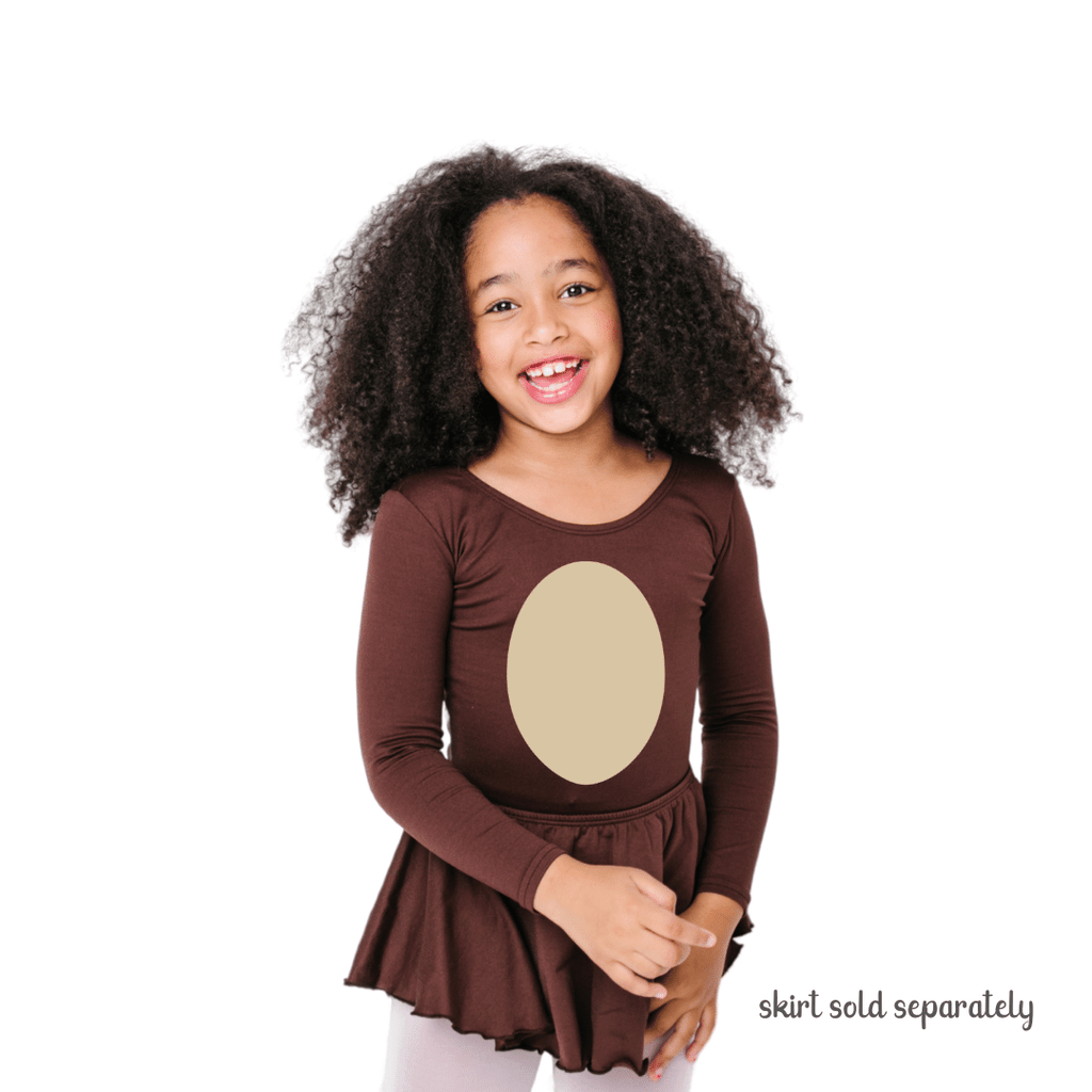 Animal Belly Brown Costume for Toddlers and Girls Halloween