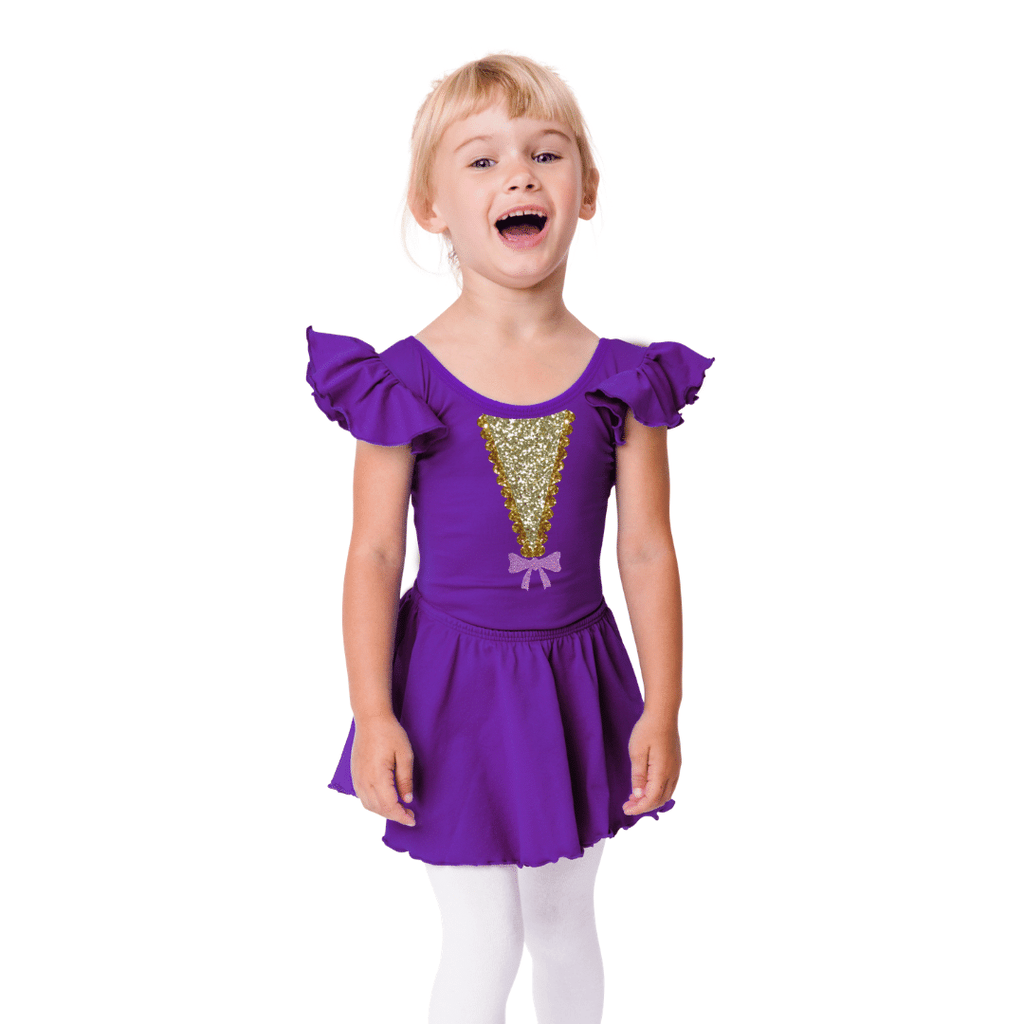 Ann Wheeler Costume Leotard for Girls and Toddlers
