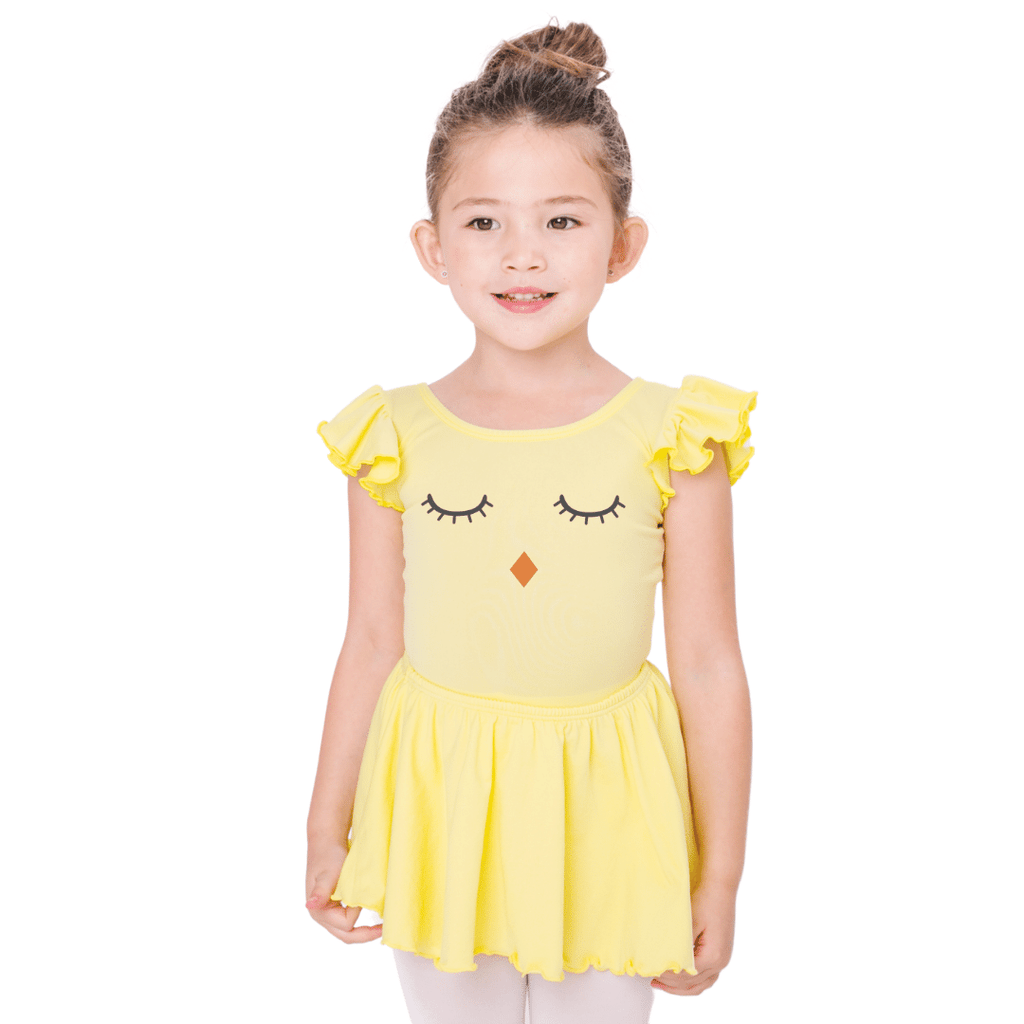 Baby Chick Easter Leotard for Dance and Gymnastics