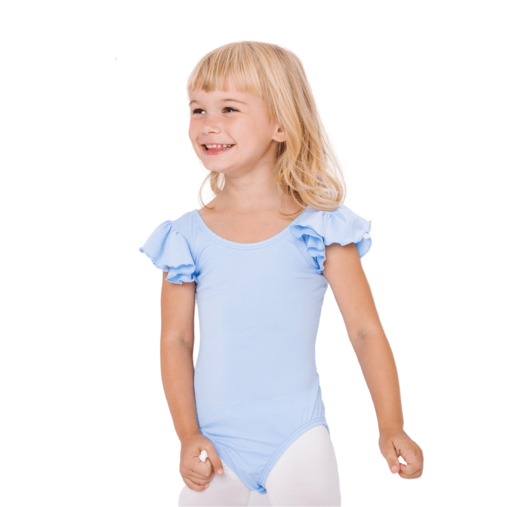 Children's Light Blue Leotard for Dance/Ballet and Gymnastics
