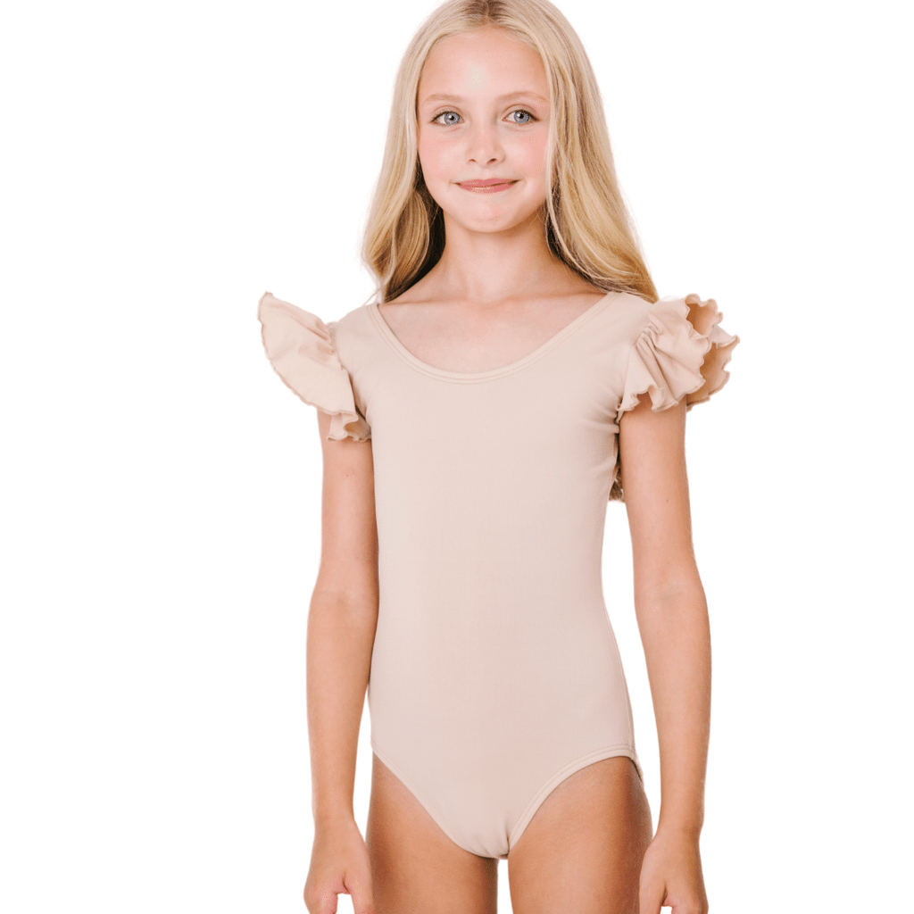 Dance/Ballet Leotard in Nude/Beige for Toddlers and Girls