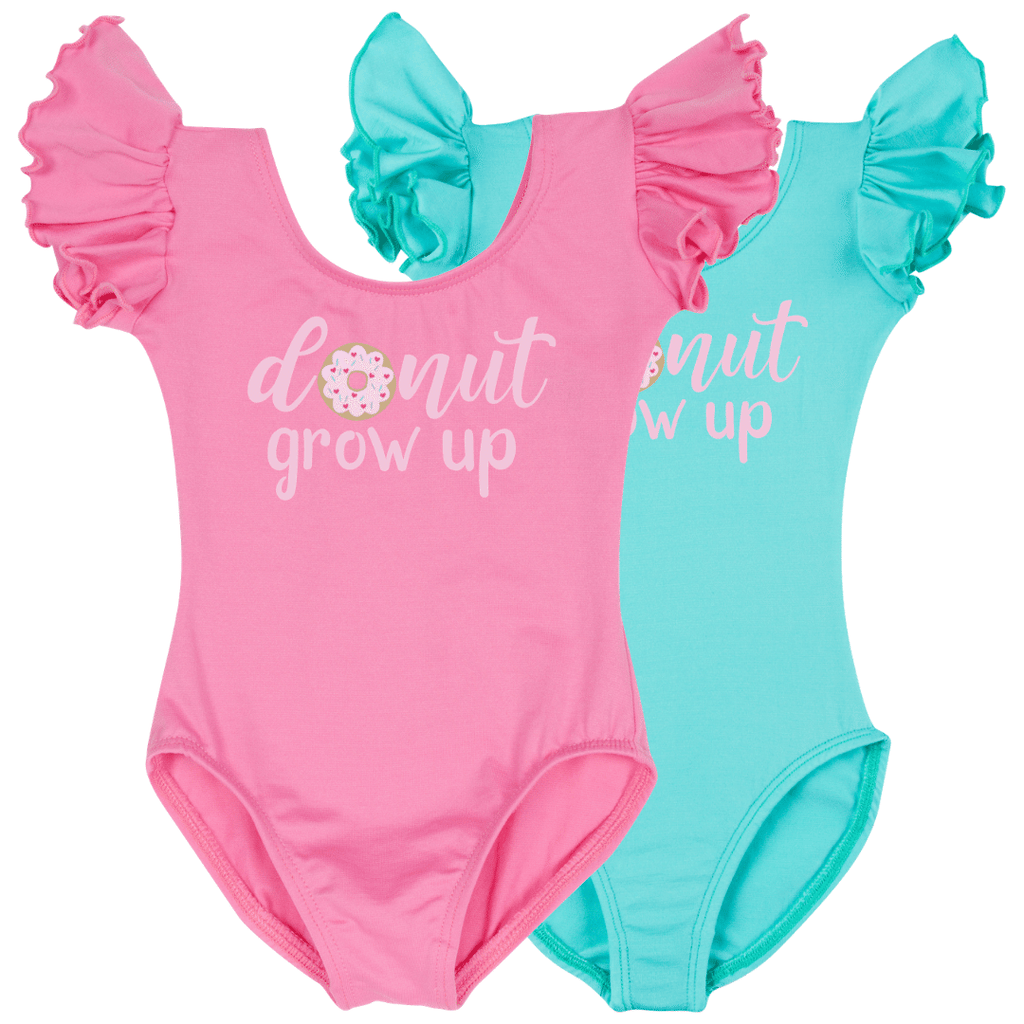 Donut Grow Up Birthday Girl Shirt