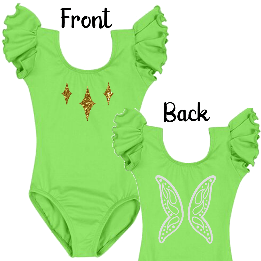 Tinker Bell Fairy Wings Onesie Costume