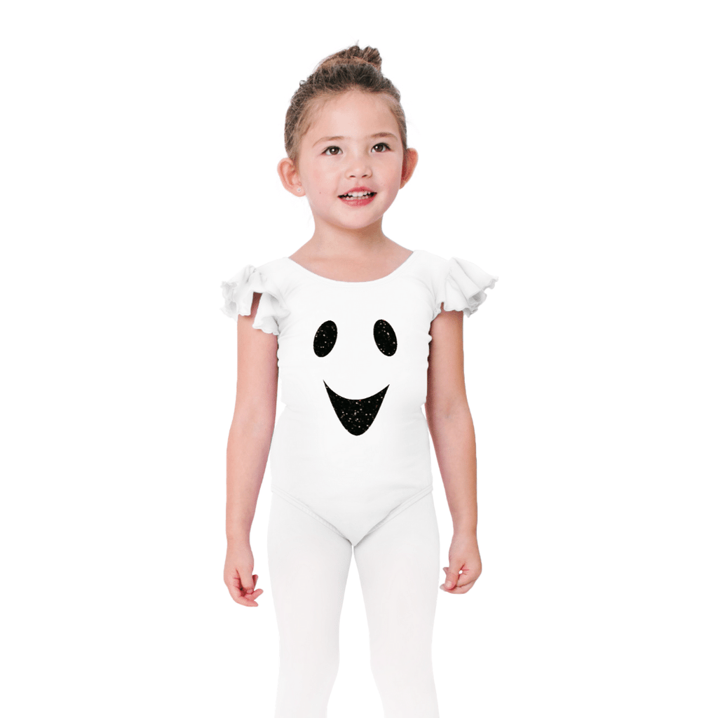 Ghost Costume Halloween Leotard for Girls
