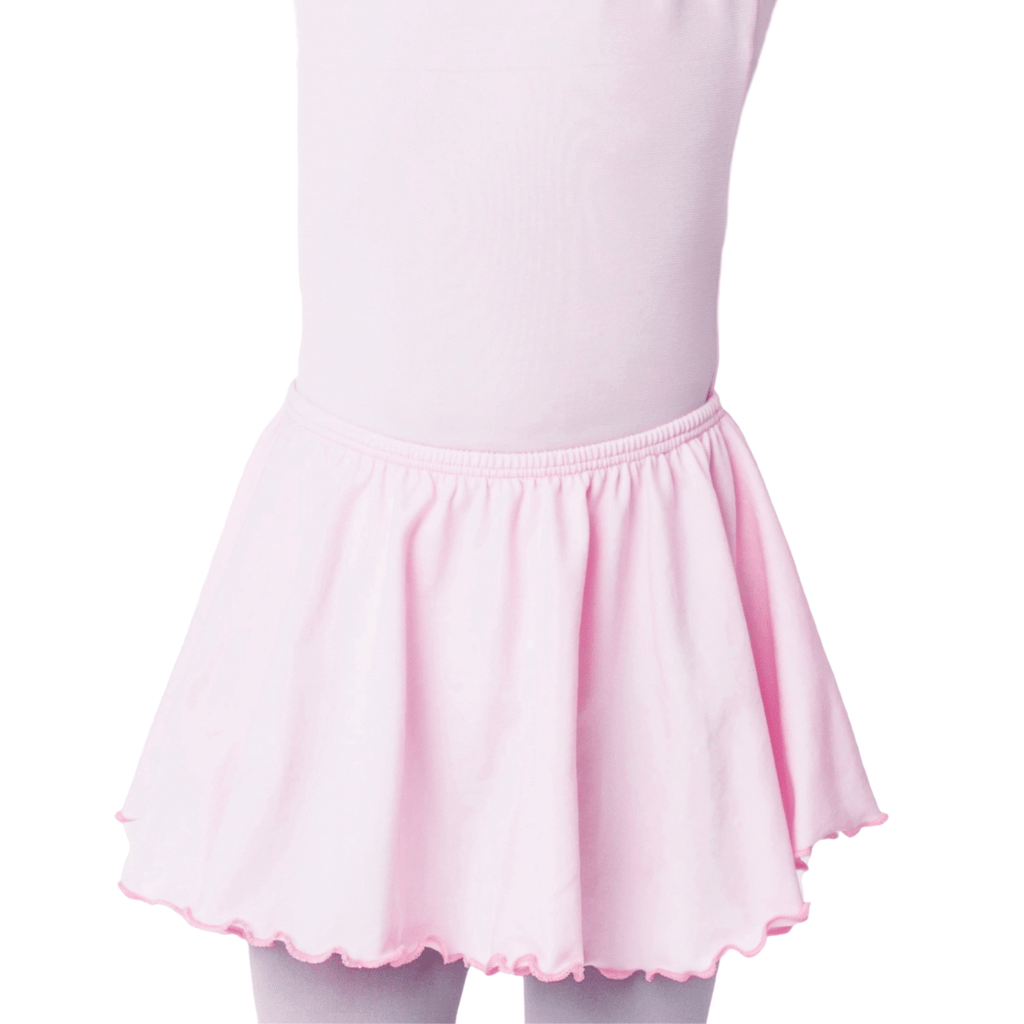 Girls and Toddlers Light Pink Dance Skirt
