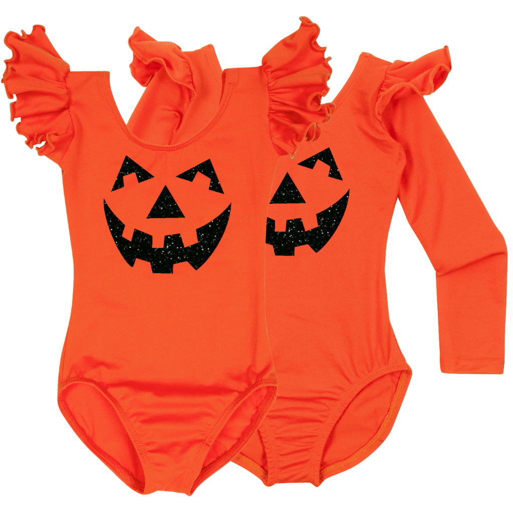 cute pumpkin toddler and baby bodysuit costume
