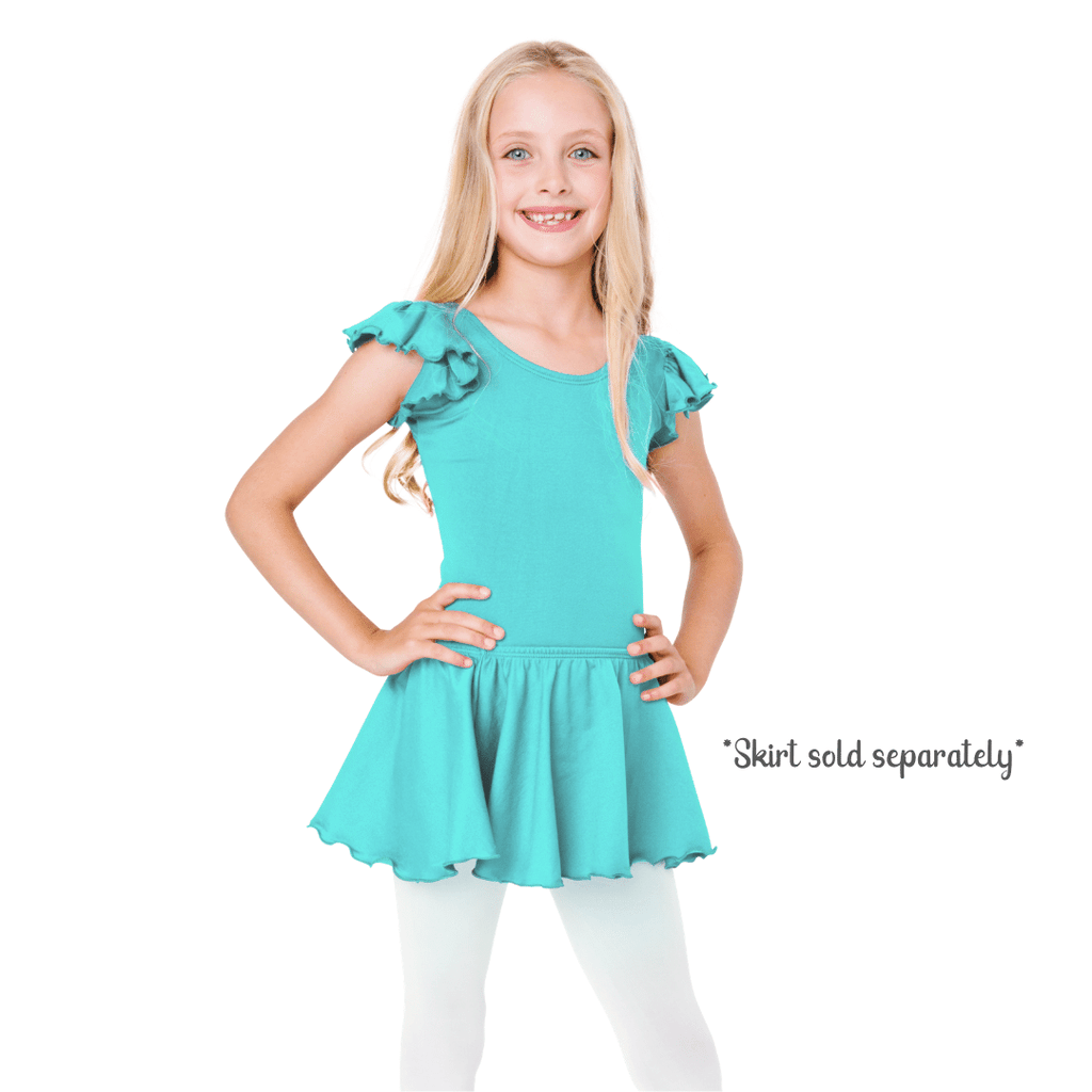 Icy Turquoise Dance Leotard and Bodysuit for Girls and Toddlers
