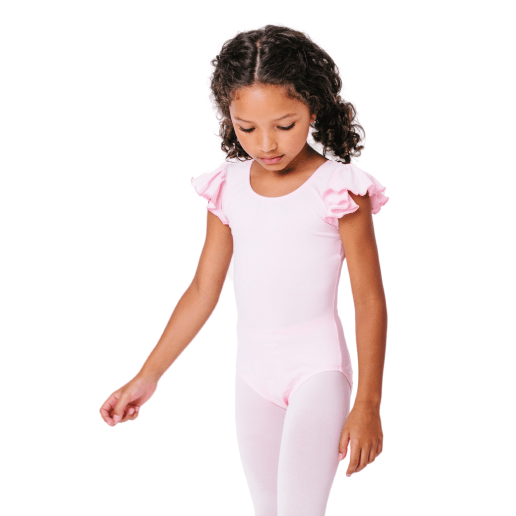 Light Pink Dance Leotard for Toddlers and Girls