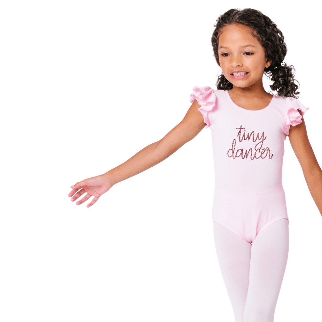 Light Pink Tiny Dancer Leotard for Girls and Toddlers