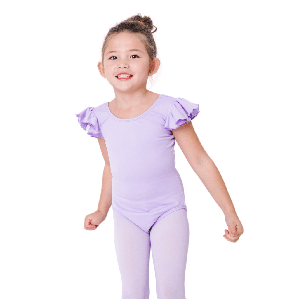 Lilac Purple Ballet Leotard for Girls and Toddlers