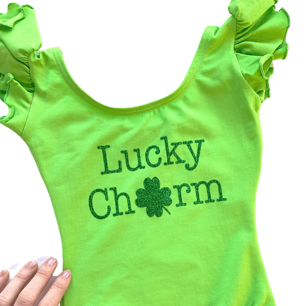 Lucky Charm Dance Leotard for Girls