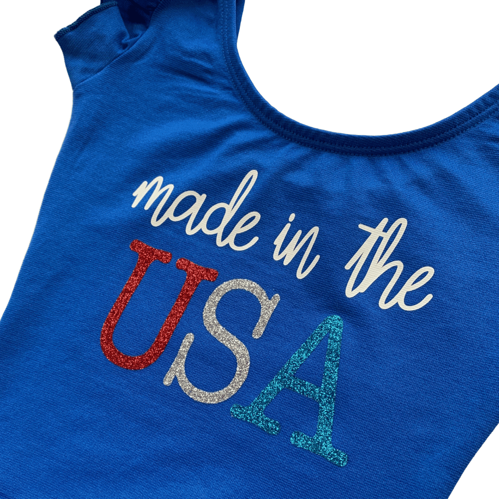 Made in the USA Girls Leotard