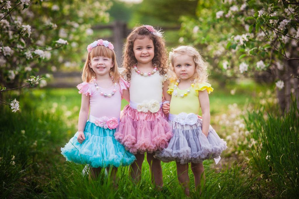 Infant and Girls Ruffle Sleeve Leotards by The Leotard Boutique