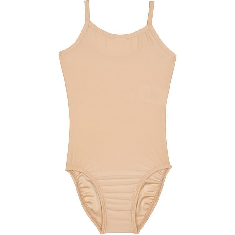 Nude/Beige Camisole Leotard for Ballet and Gymnastics