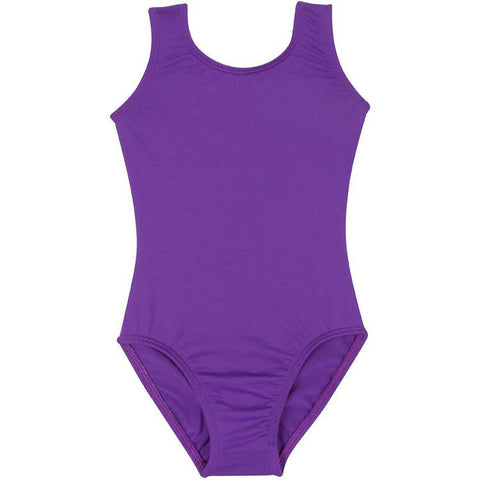 Purple Gymnastics Leotard