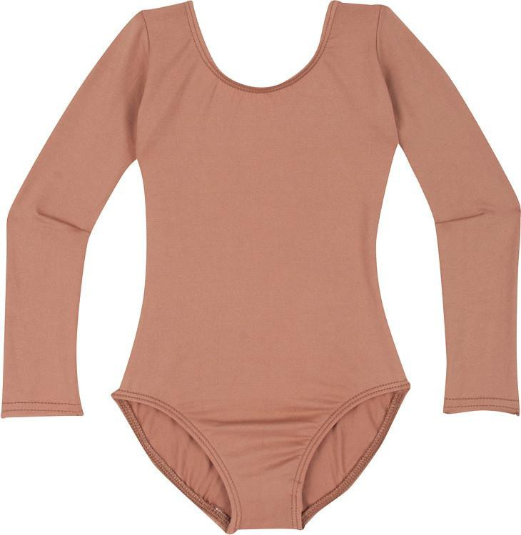 Suntan Leotard & Bodysuit with Long Sleeves