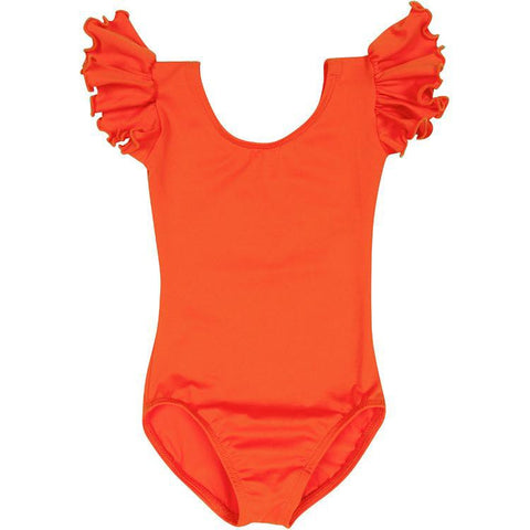 Orange Leotard for Toddler and Girls