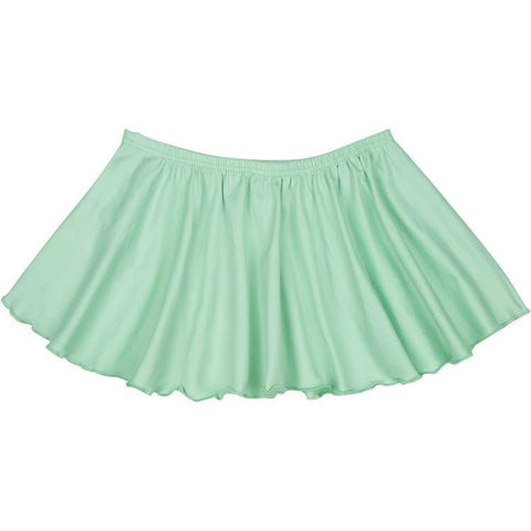 Mint Green Ruffle Dance Skirt for Girls