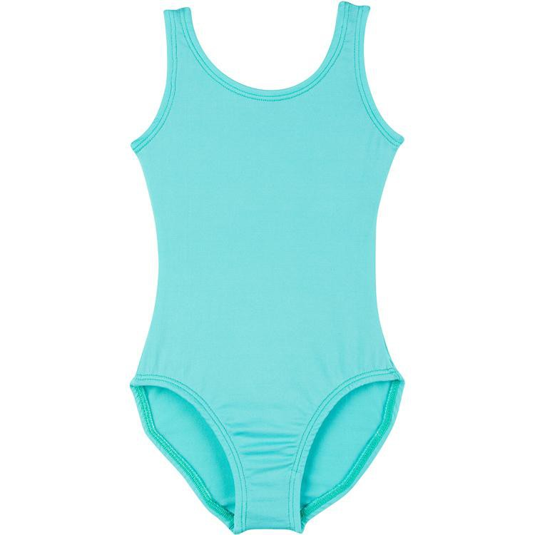 Turquoise Tank Top Leotard