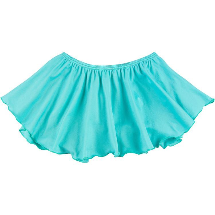 Girls Turquoise Frozen Ballet Dance Skirt