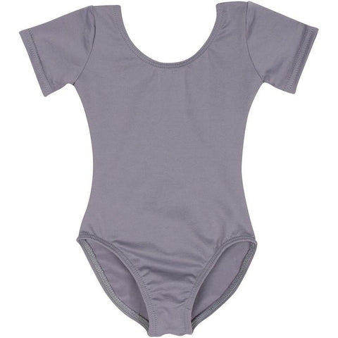 Gray Grey Leotard for Toddler and Girls