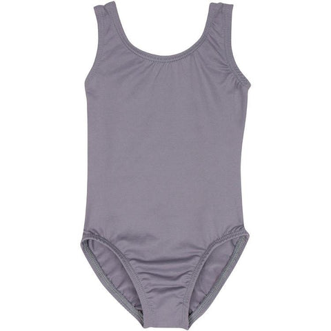 Gray Grey Tank Leotard for Toddler and Girls
