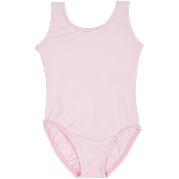 Light Pink Tank Leotard for Toddler and Girls