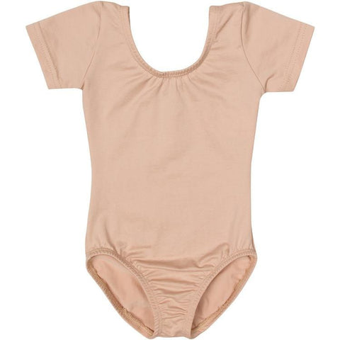 Girls Flesh Nude Beige Champagne Leotard