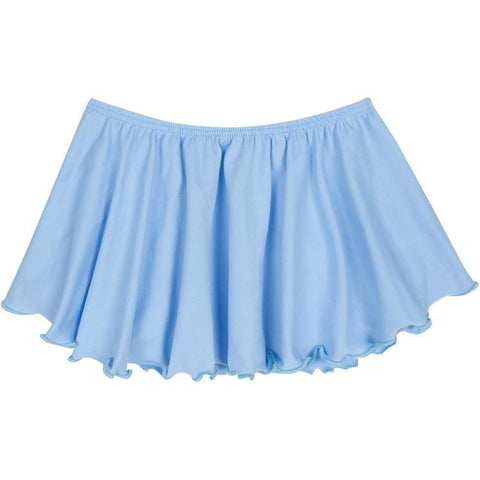 Light Blue Ballet Dance Skirt for Toddler and Girls