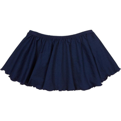 navy blue ballet dance skirt