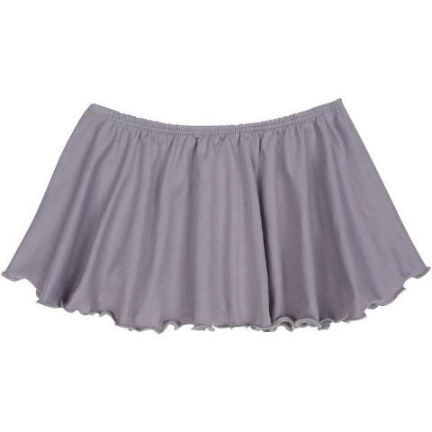 Gray Grey Ballet Dance Skirt for Toddler and Girls
