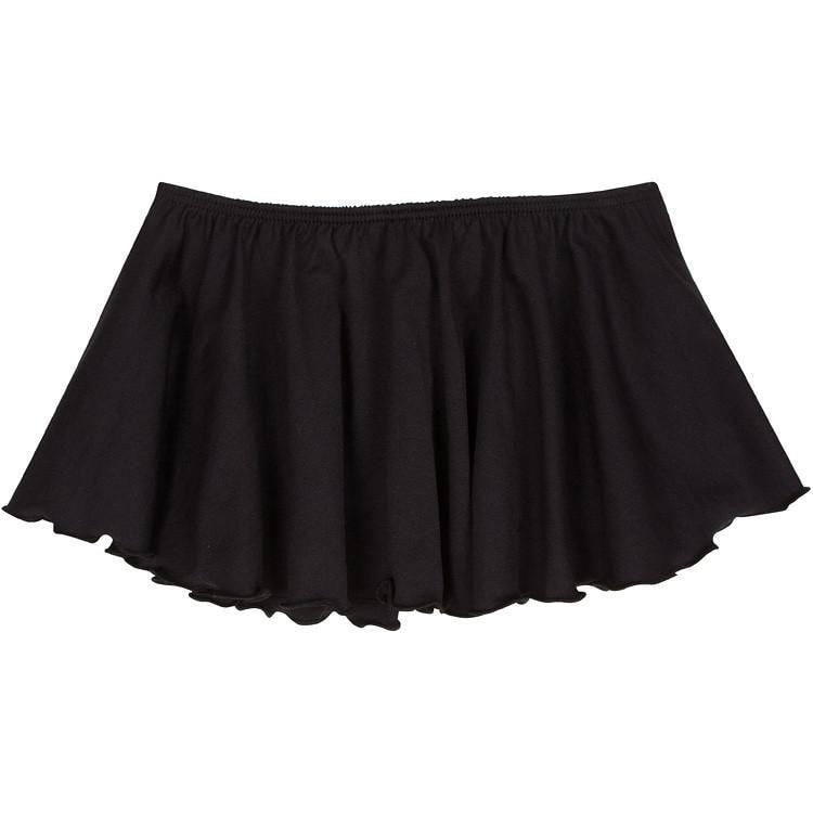 Black Ballet Dance Skirt for Toddler and Girls