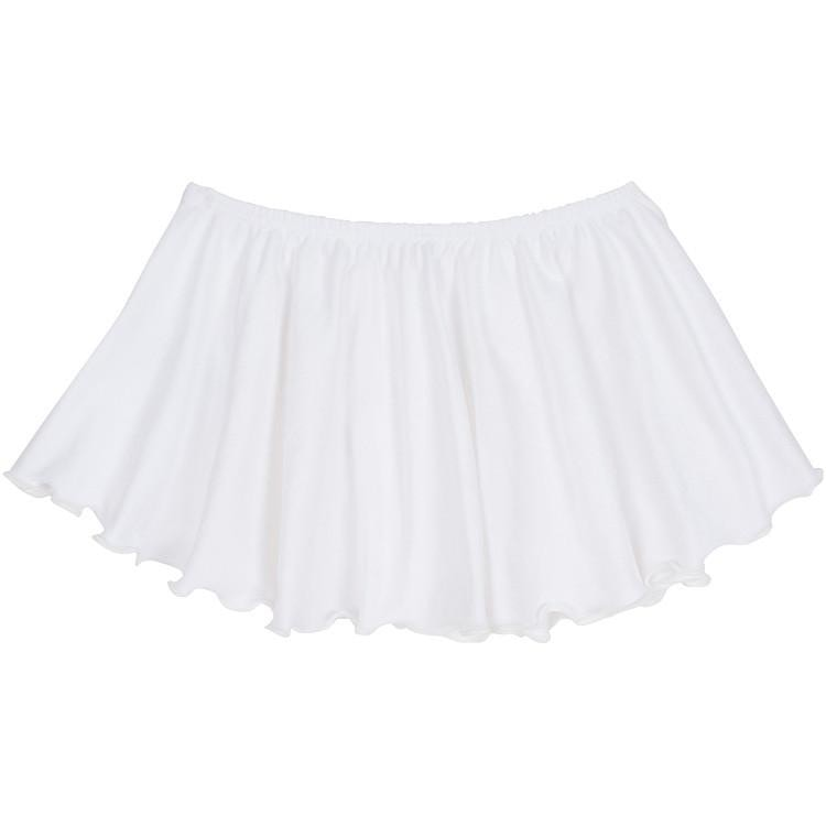 White Ballet Dance Skirt