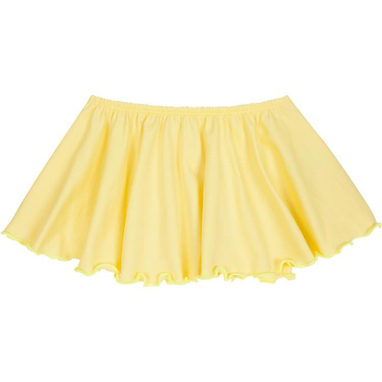 Yellow Ballet Dance Skirt