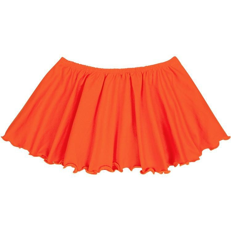Orange Ballet Dance Skirt for Toddler and Girls