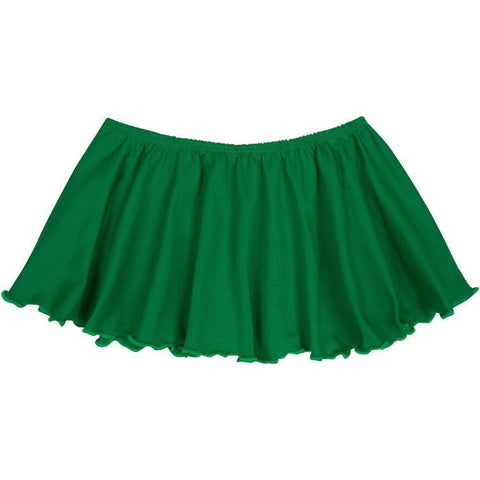Green Ballet Dance Skirt for Toddler and Girls