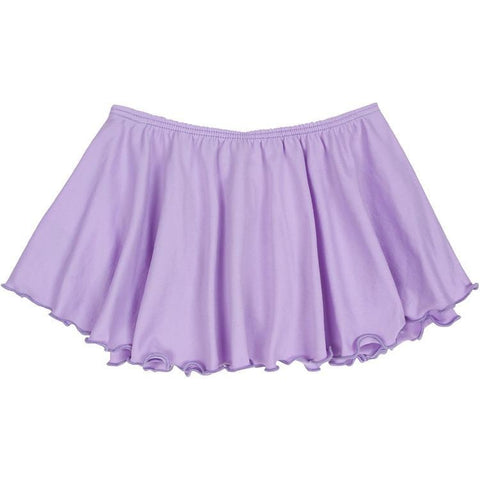 Lilac Purple Ballet Dance Skirt for Toddler and Girls