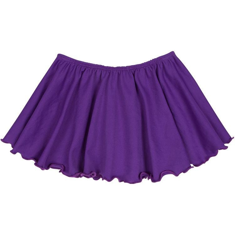 Purple Ballet Dance Skirt for Toddler and Girls