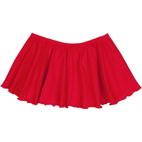 Red Ballet Dance Skirt for Toddler and Girls